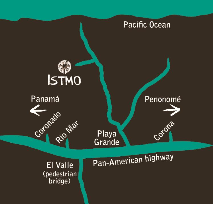 Direction to Istmo Yoga and Adventure Retreat